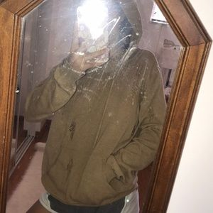 Distressed hoodie from forever21